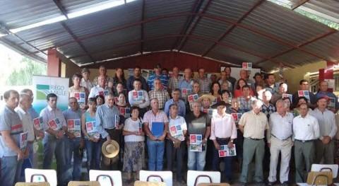 regantes Maule recibieron títulos derechos aprovechamiento aguas