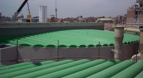 TecnoConverting suministra varias cubiertas depuradora Portugal