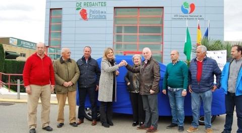 Comunidad Regantes Palos Frontera dona coche AECC expandir labor