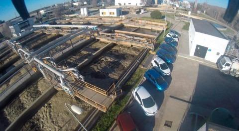 ACCIONA gestiona depuradoras Jarama Medio y Henares 5 años coches eléctricos