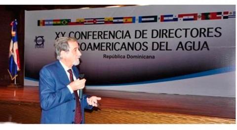 Diálogo político Directores Iberoamericanos Agua República Dominicana
