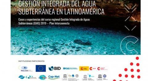 """CODIA publica cuadernillo curso """"Gestión Integrada Aguas Subterráneas (GIAS)"""""""