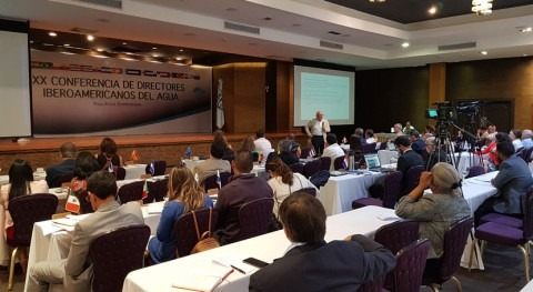España participa XX Conferencia Directores Iberoamericanos Agua