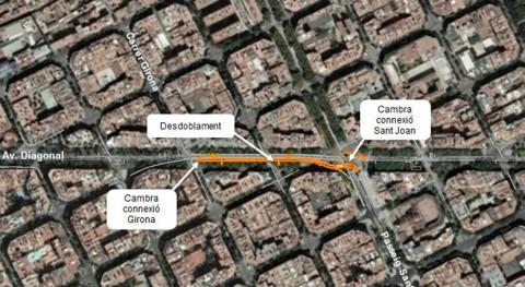 Barcelona ejecuta más 70% obras ampliación colector Diagonal