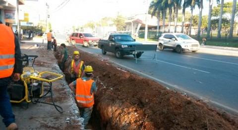 obras Colector Mariscal Estigarribia Paraguay alcanzan 46% avance