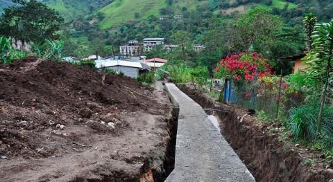 Autorizada restitución tramo colector agua Barredos Camponaraya, León
