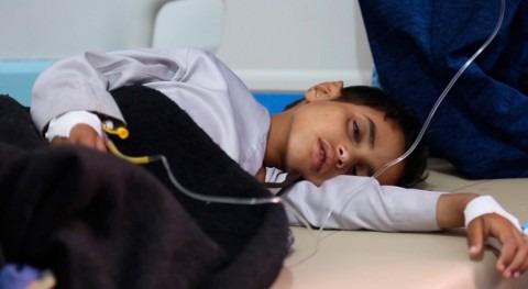 Yemen: 4.000 casos cólera al día y más mitad ellos son niños