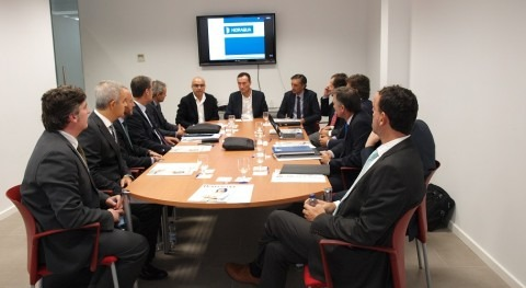 Hidraqua celebra Comité Dirección delegación ilicitana Cámara Comercio
