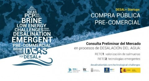 compra pública precomercial como instrumento contratación innovar desalación