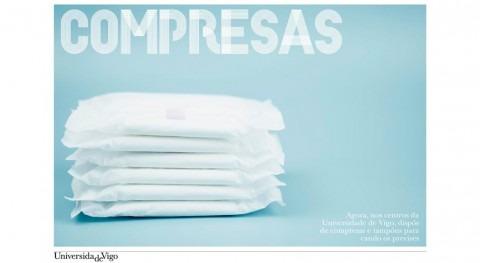 Universidad Vigo, pionera España dar acceso gratuito productos higiene femenina