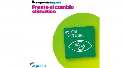medidas implantadas Aqualia han contribuido reducir 15,5 % emisiones CO2