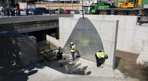 CHE realiza instalación compuertas reducir riesgo inundación Tudela