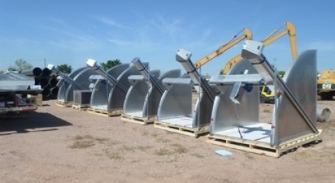 Instala Conagua diez compuertas automatizadas distrito riego Río Yaqui