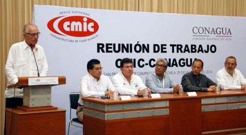 Avanzan modernización sistemas agua potable, drenaje y alcantarillado San Francisco Campeche