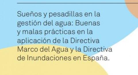 Sueños y pesadillas gestión agua: Buenas y malas prácticas aplicación Directiva Marco Agua