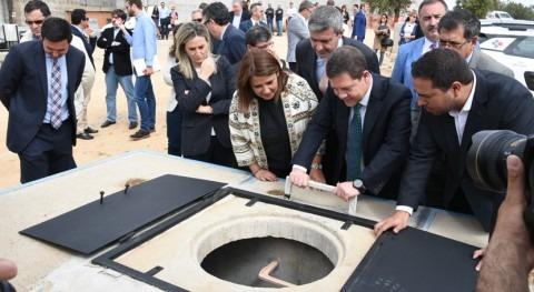 Gobierno Castilla- Mancha inaugura conducción Sagra Este-Toledo