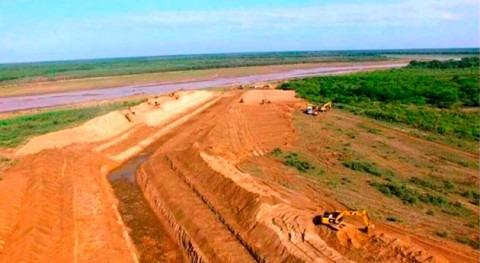 canal paraguayo ya está conectado al cauce principal río Pilcomayo