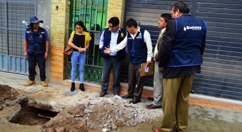 Gobierno Perú inspecciona instalaciones conexiones clandestinas abastecimiento agua