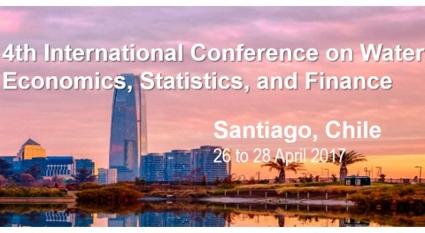 4TH International Conference on Water Economics, Statistics, and Finance, Chile 26-28 April, 2017
