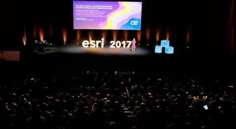 Conferencia Esri 2017, mayor evento GIS y tecnología cartográfica Europa