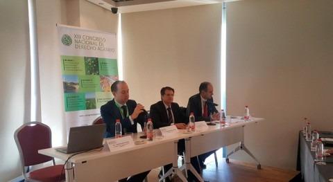 competencias materia agua centran 1ª jornada XIII Congreso Derecho Agrario
