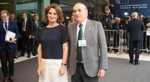 España pide Europa mayor compromiso lucha cambio climático