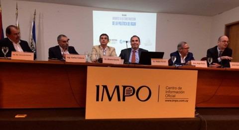debate aportes construcción política agua Uruguay
