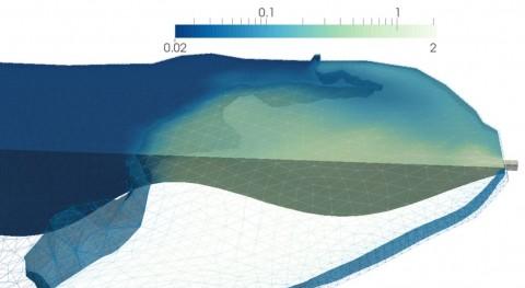 ¿Cómo simular dinámicamente contaminación laguna?