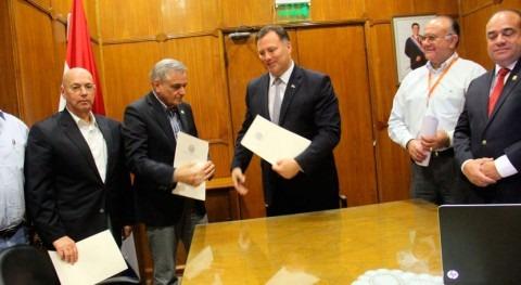 Ampliado convenio ejecución trabajos complementarios obras río Pilcomayo