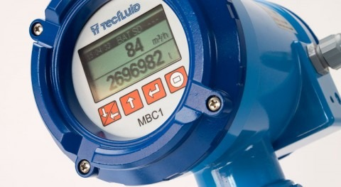 MBC1: Convertidor caudalímetros electromagnéticos pilas, totalmente autónomo
