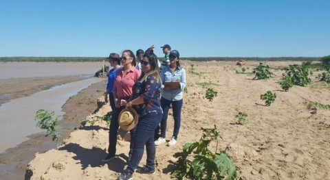 trabajo conjunto, clave mantener río Pilcomayo