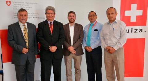cooperación Suiza-Seco apoyará fortalecimiento sector agua y saneamiento