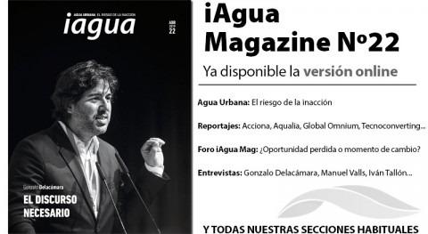 ¡Lee ya online iAgua Magazine 22!