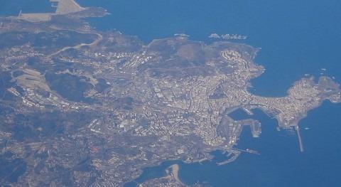 Vista aérea de A Coruña (Wikipedia/CC).