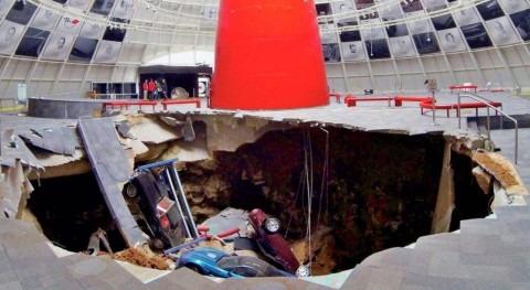 tecnología monitorización agua Xylem ayuda evaluar socavón gigante Kentucky