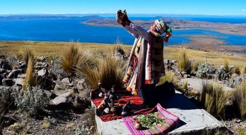 Cuentan abuelos Pachamama, Tayta granizo, Mama Qhocha y Sallqa