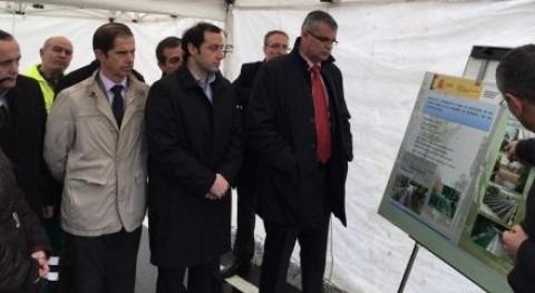 nuevo puente río Pequeno Muimenta aumenta capacidad hidráulica
