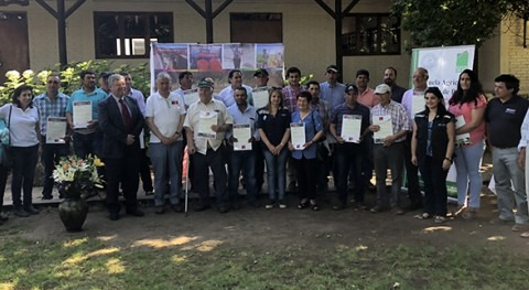 800 familias agricultores Maule reciben bonos riego parte Gobierno Chile