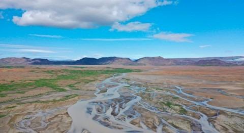 sedimentos extraídos río y lago Islandia, lo más parecido al Marte antiguo
