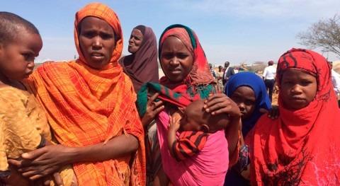 sequía y cólera agravan crisis humanitaria Somalia y Sudán Sur