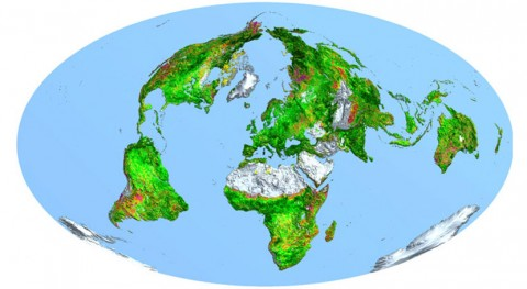 Tierra, cada vez más verde hace 33 años