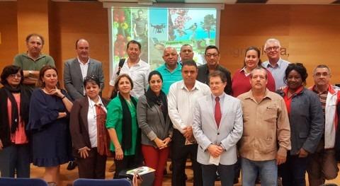 delegación cubana se interesa programa desarrollo rural y gestión hídrica Murcia