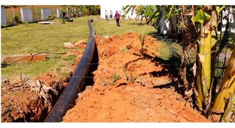 Palma y Sanguily, Cuba, disfrutan nueva red agua potable