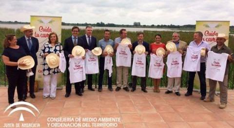 Cuida tu camino, campaña dirigida peregrinos que acudirán al Rocío accesos Doñana