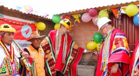 Gobierno Perú sigue trabajando llevar agua potable familias rurales Cusco