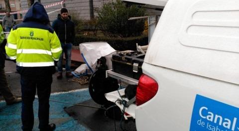 Ayto Alpedrete y CY2 inician trabajos mejora saneamiento calle Maestro