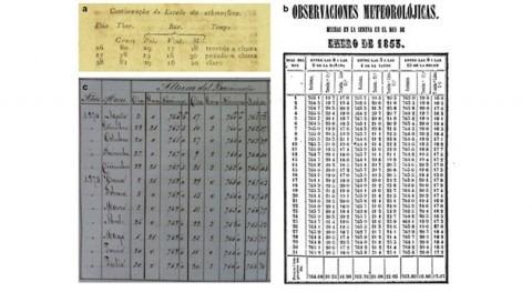 Recuperados 300.000 datos meteorológicos América Latina y Caribe siglos XVIII y XIX