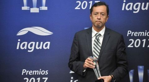 CAF, premiada labor sector agua