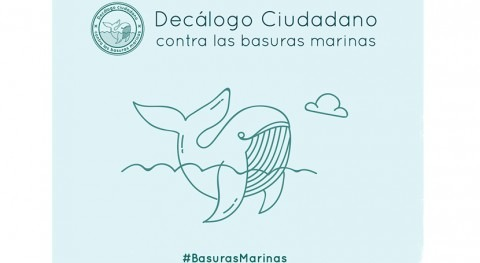 Decálogo Ciudadano basuras marinas