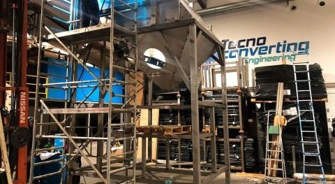 TecnoConverting suministra nuevo decantador compacto